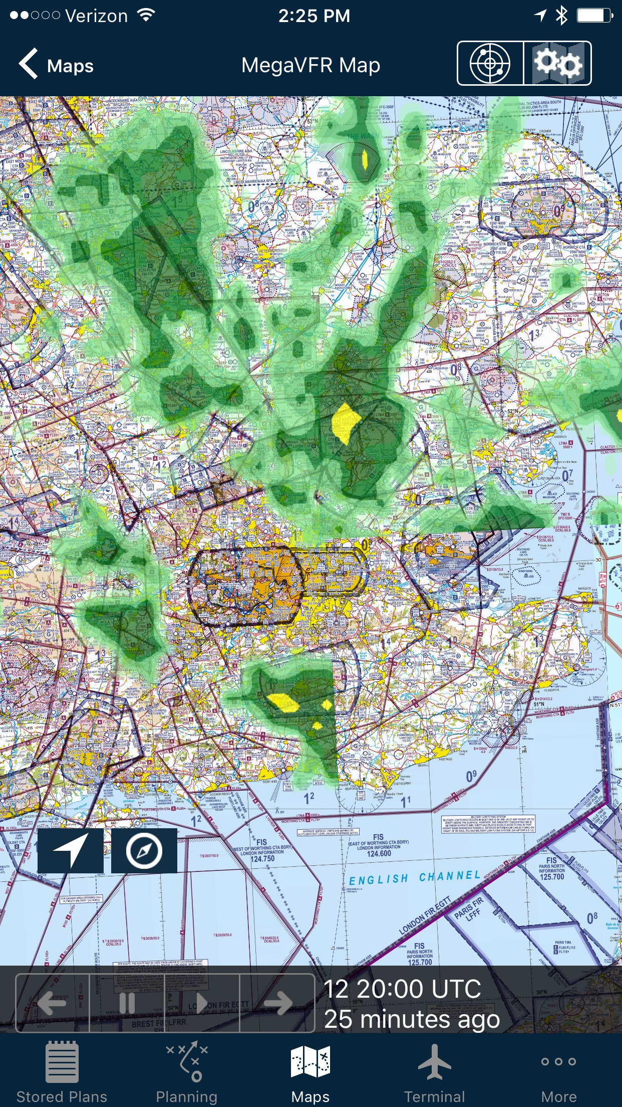 AvPlan EFB Screenshot