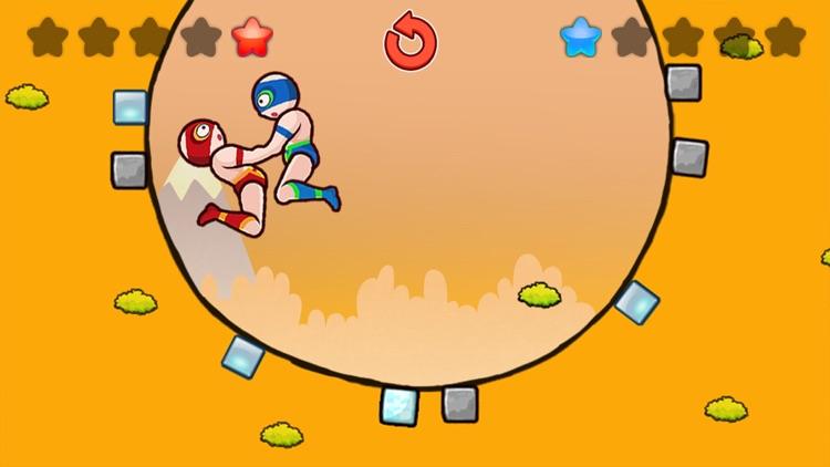 Wrestle Jump Man screenshot-3
