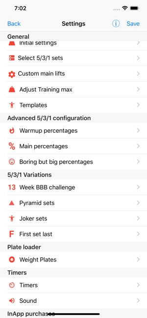 5 3 1 workout logger 531 on the app store