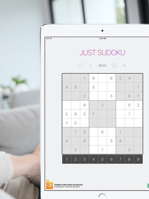Just Sudoku: Puzzle Logic Game Скриншоты8