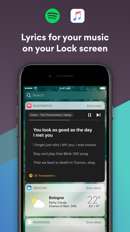 Musixmatch Lyrics Finder screenshot-2