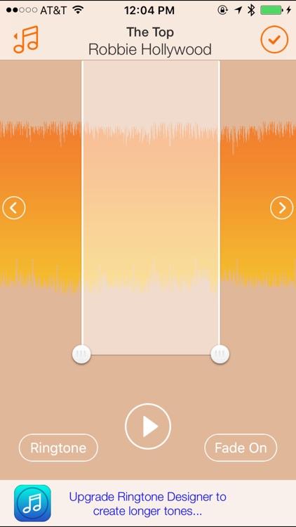 Ringtone Designer 2.0 screenshot-3