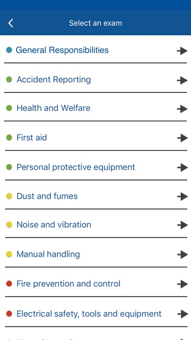 CSCS Card Test Revision 2018 screenshot one