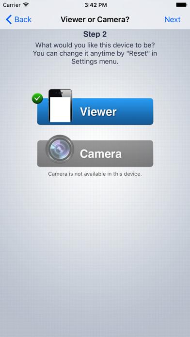 Wi-Fi Camera (Web of Cam) Screenshot