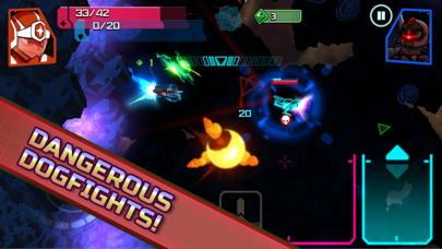 Screenshot from GALAK-Z: Variant Mobile