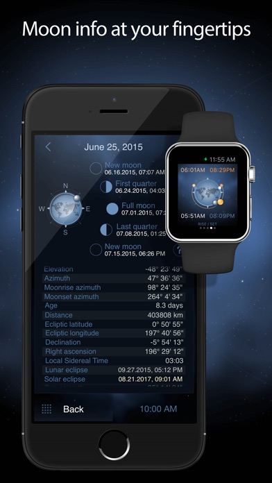 Screenshot for Deluxe Moon Pro in United States App Store