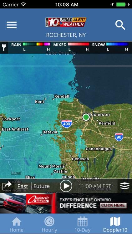 WHEC First Alert Weather screenshot-3