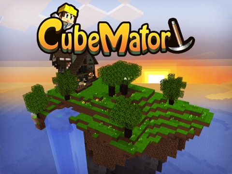 CubeMator - Mine the World на iPad