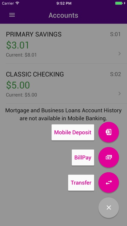 Kinecta Mobile Banking screenshot-1