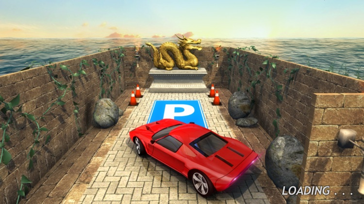 Car Parking In Labyrinth Maze