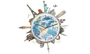 World - Time - Clock