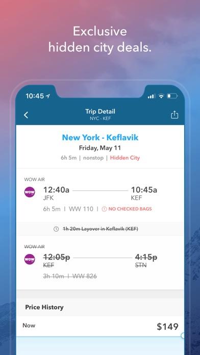 Skiplagged — Flights & Hotels