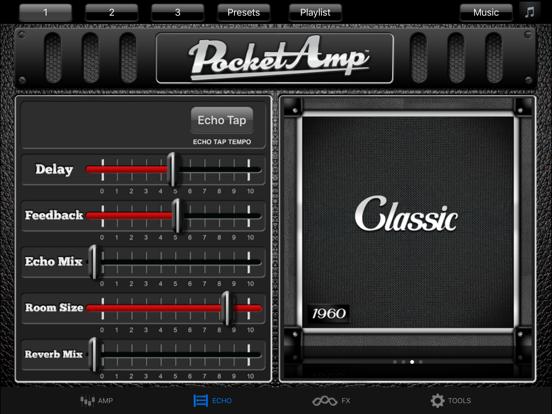 PocketAmp - Guitar Amp Effects-ipad-1