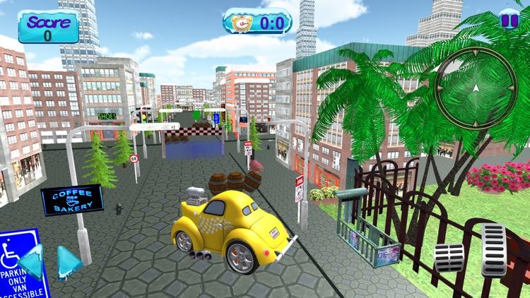 City Car Driving 3D Simulator screenshot-3