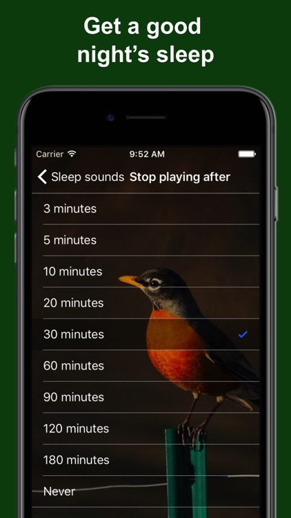 Bird Alarm Clock & Sleep Sound screenshot-4