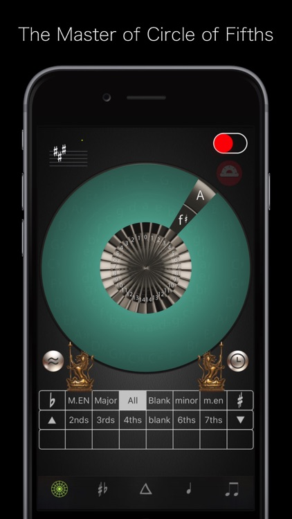 Circle of 5ths Master IV screenshot-0