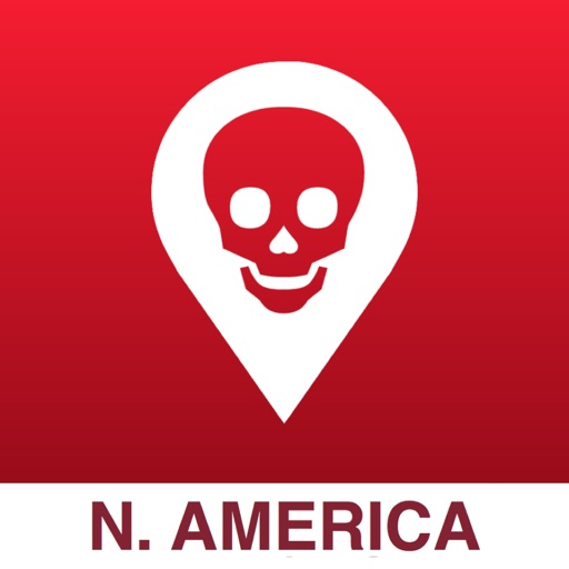 Poison Maps - North America