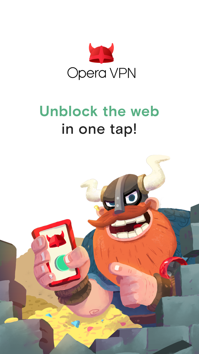 Opera VPN Screenshot