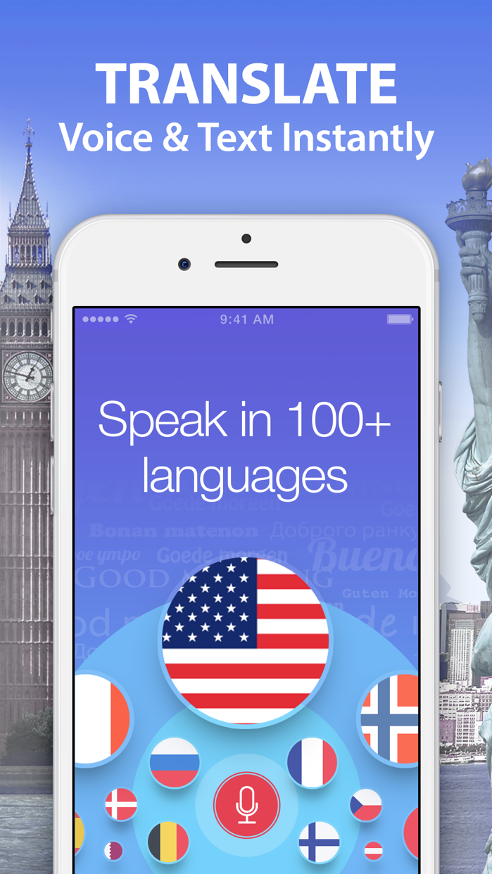 Voice Translator & Dictionary Screenshot
