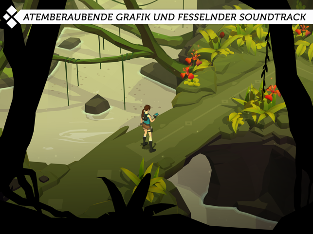 ‎Lara Croft GO Screenshot