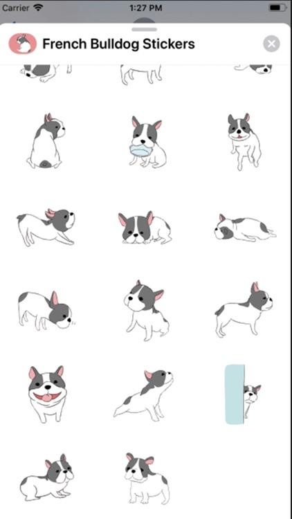 French Bulldog Stickers ! screenshot-3