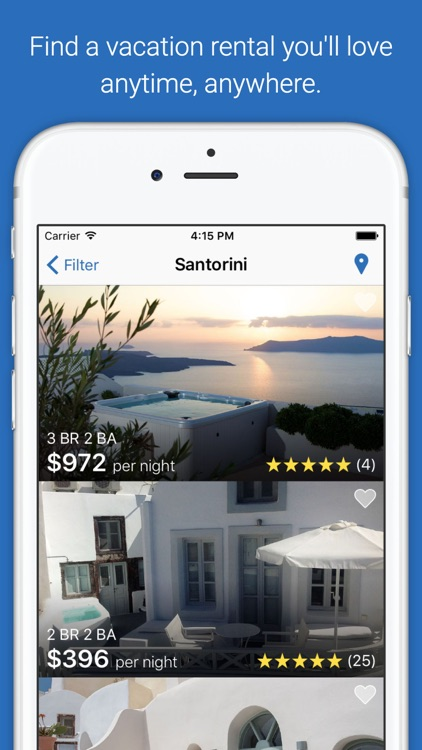 HomeAway Vacation Rentals screenshot-0