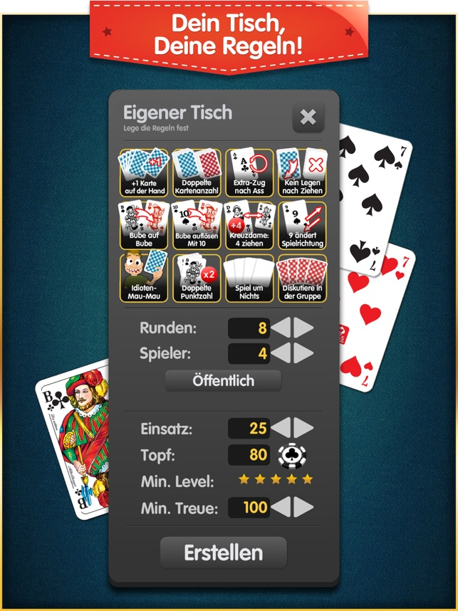 Mau Mau Das Kartenspiel im App Store