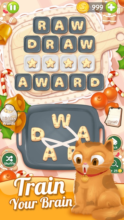 Word Connect Cookies Puzzle screenshot-3