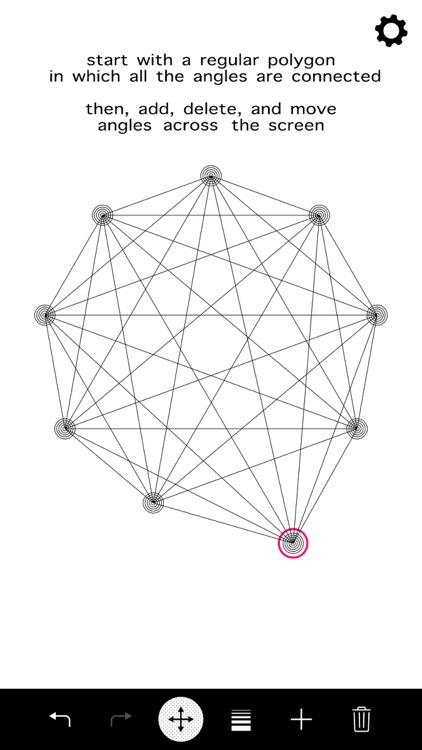 Entangle - Geometric drawing screenshot-0