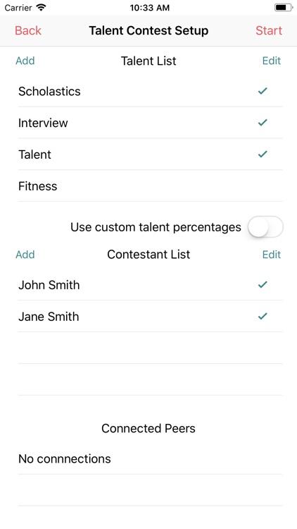 Talent Competition Judge screenshot-5