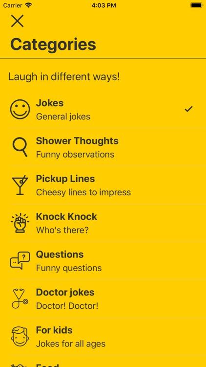 Laugh My App Off - Funny Jokes screenshot-3