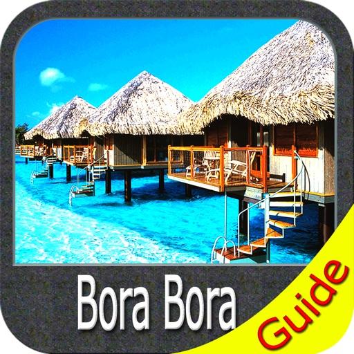 Bora Bora charts GPS offline map Navigator