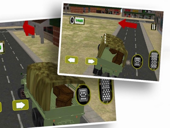 Driving Army Car Offroad screenshot 4