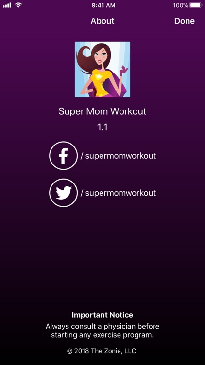 Super Mom Workout screenshot-4