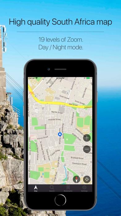 South Africa Navigation Screenshot