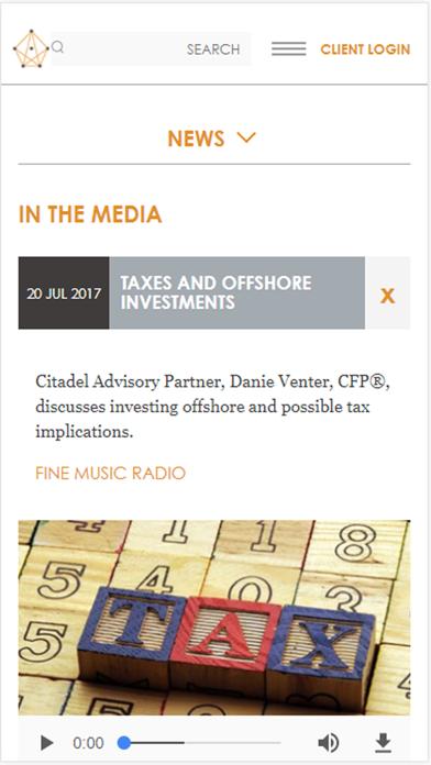 Citadel Investment Services screenshot three