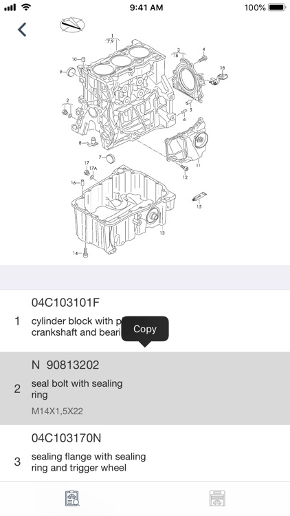 Car parts for Seat diagrams