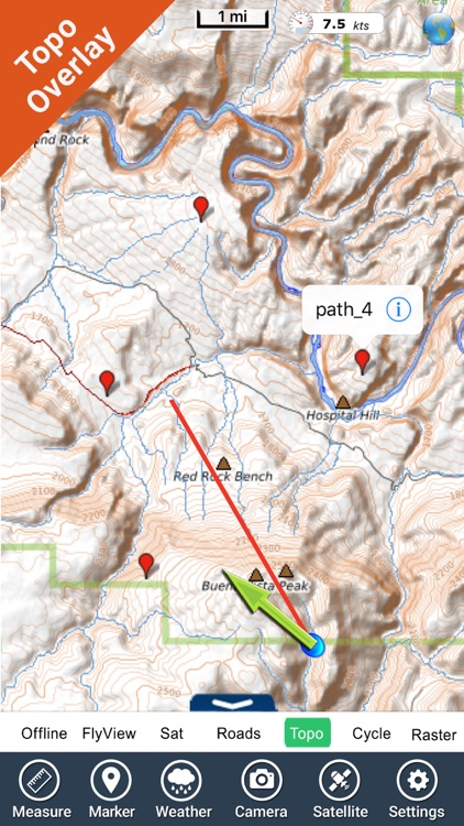 Dinosaur National Monument - GPS Map Navigator by Flytomap on