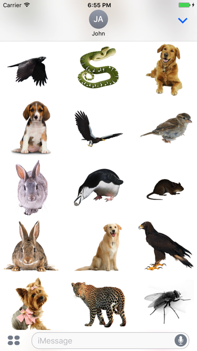 Animals Stickers+ screenshot two