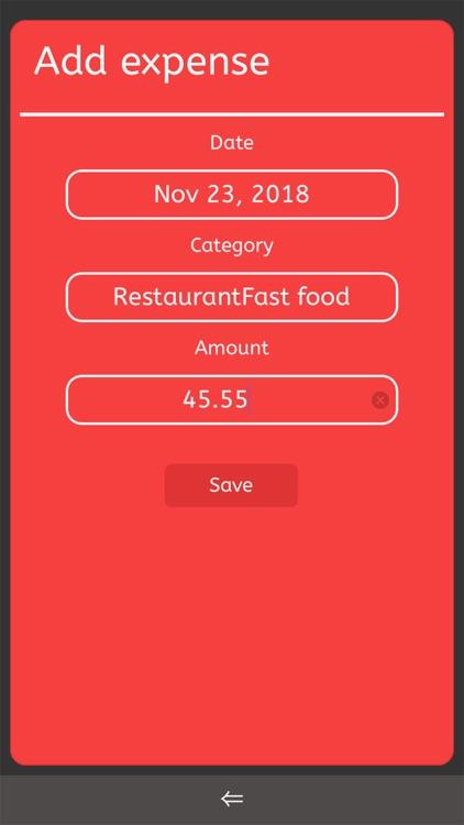 Pocket Budget Tracker screenshot-3