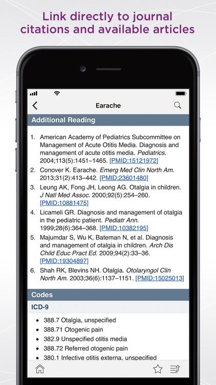 The 5-Minute Pediatric Consult screenshot-3
