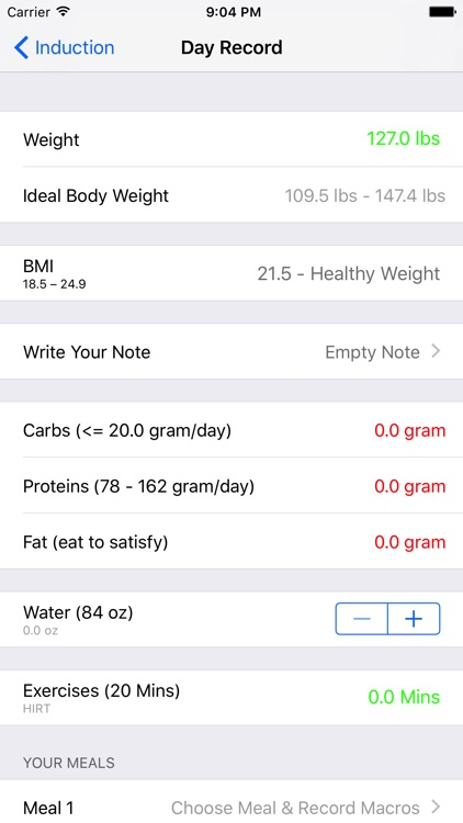 Atkins Diet Macros Tracker screenshot-4