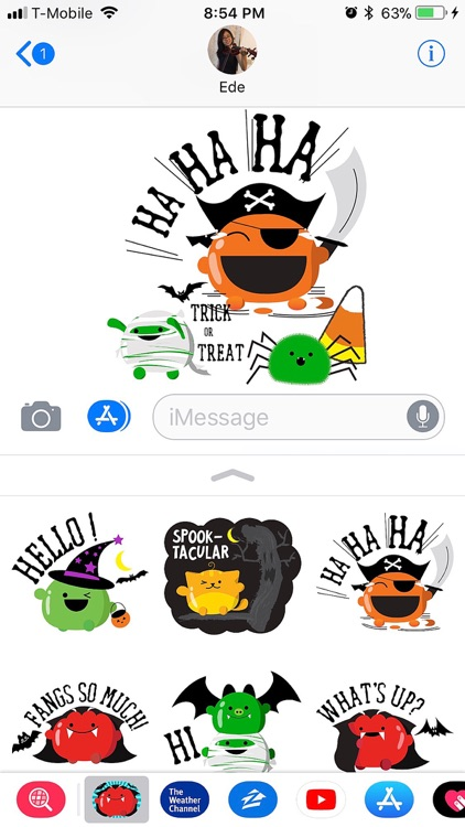 Mochi Halloween Stickers screenshot-3