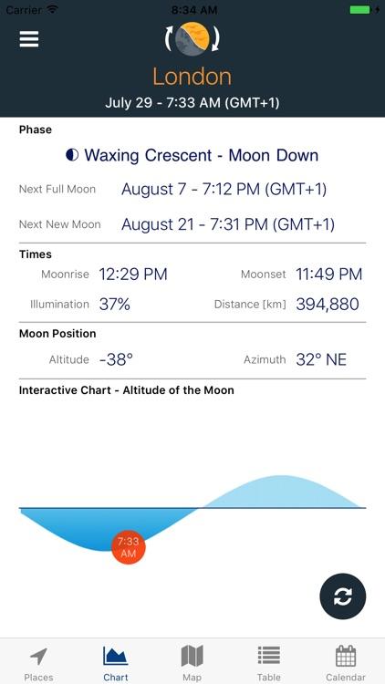 Sky Tracker -Sun & Moon Positions, Eclipse, Shadow screenshot-4