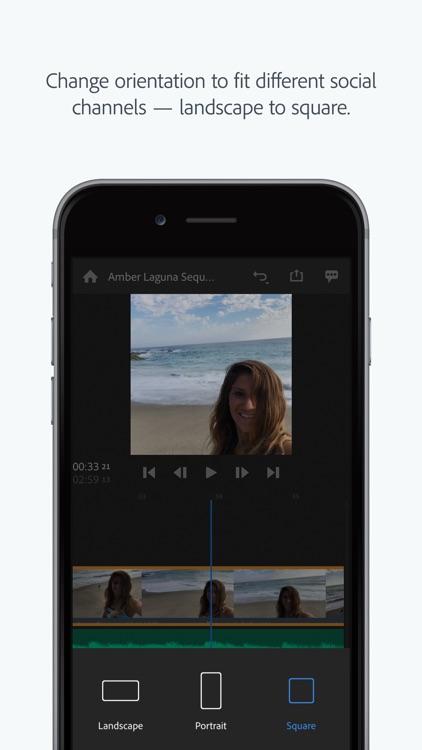 Adobe Premiere Rush CC screenshot-7