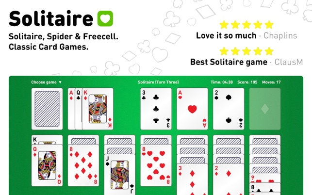 Solitaire, Spider & Freecell on the Mac App Store