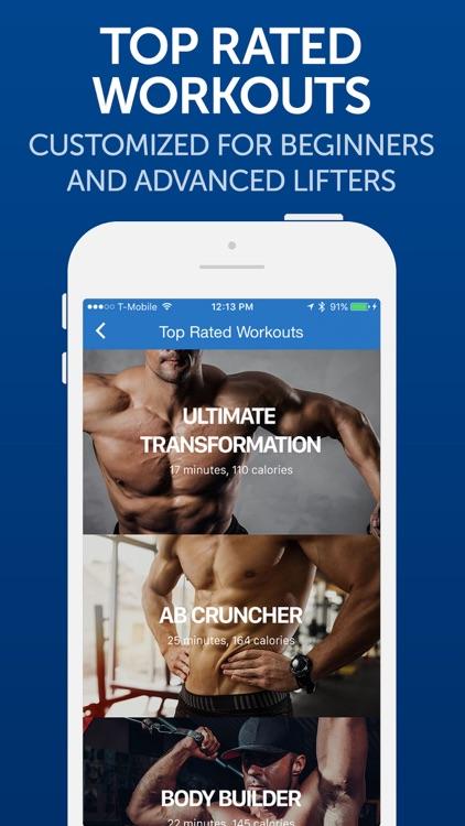 Fitness Buddy: Gym Workouts screenshot-3