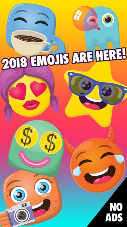 ALL NEW 2018 Emoji Keyboard
