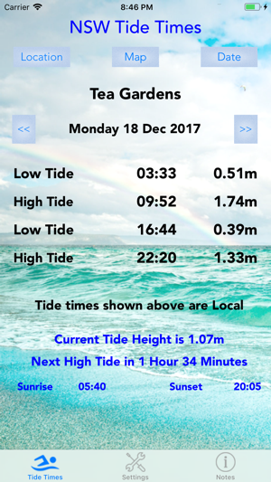 Nsw Tide Times On The App Store