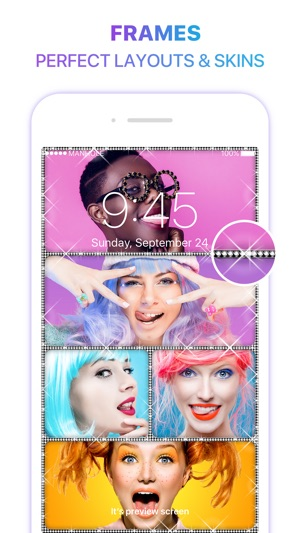 Magic Screen Customize Your Lock & Home Wallpaper Screenshot